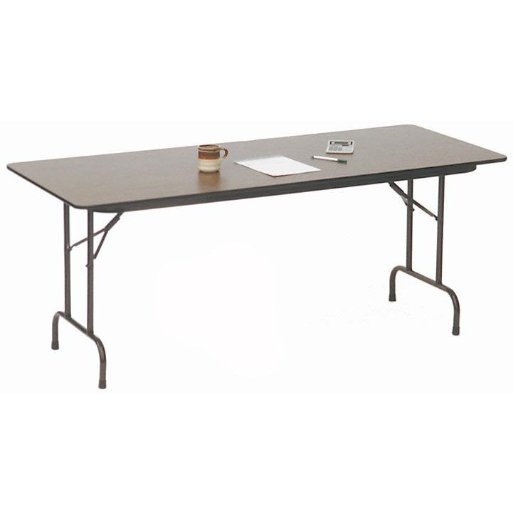 Superieur ... Our Standard Fixed Height Solid Plywood Core Rectangular Folding Table    36u0027u0027D X