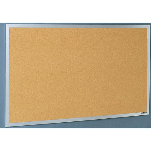 Our Quick Ship Aluminum Frame Tackboard - NuCork - 48