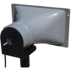 Wide Range Add On Horn Speaker with Top Tripod Mount - Black - 11