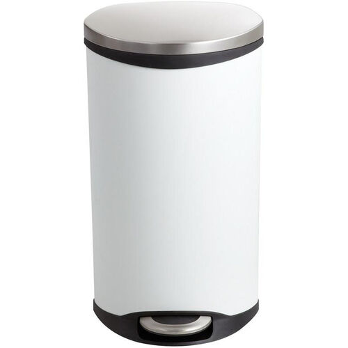 Our Ellipse 7.5 Gallon Step on Medical Trash Receptacle - White is on sale now.