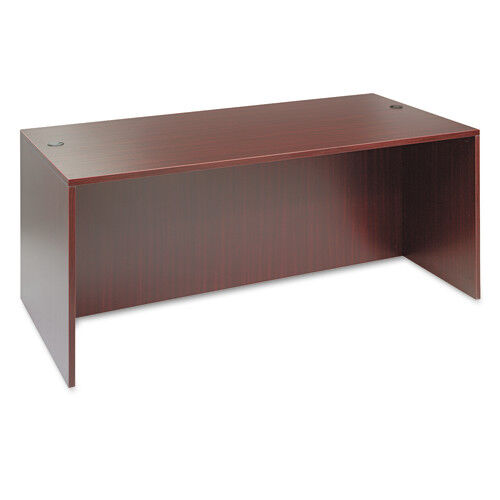 Our Alera® Valencia Series Straight Front Desk Shell - 71w x 35 1/2d x 29 1/2h - Mahogany is on sale now.