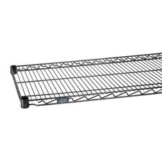 Black Epoxy Standard Wire Shelf - 24