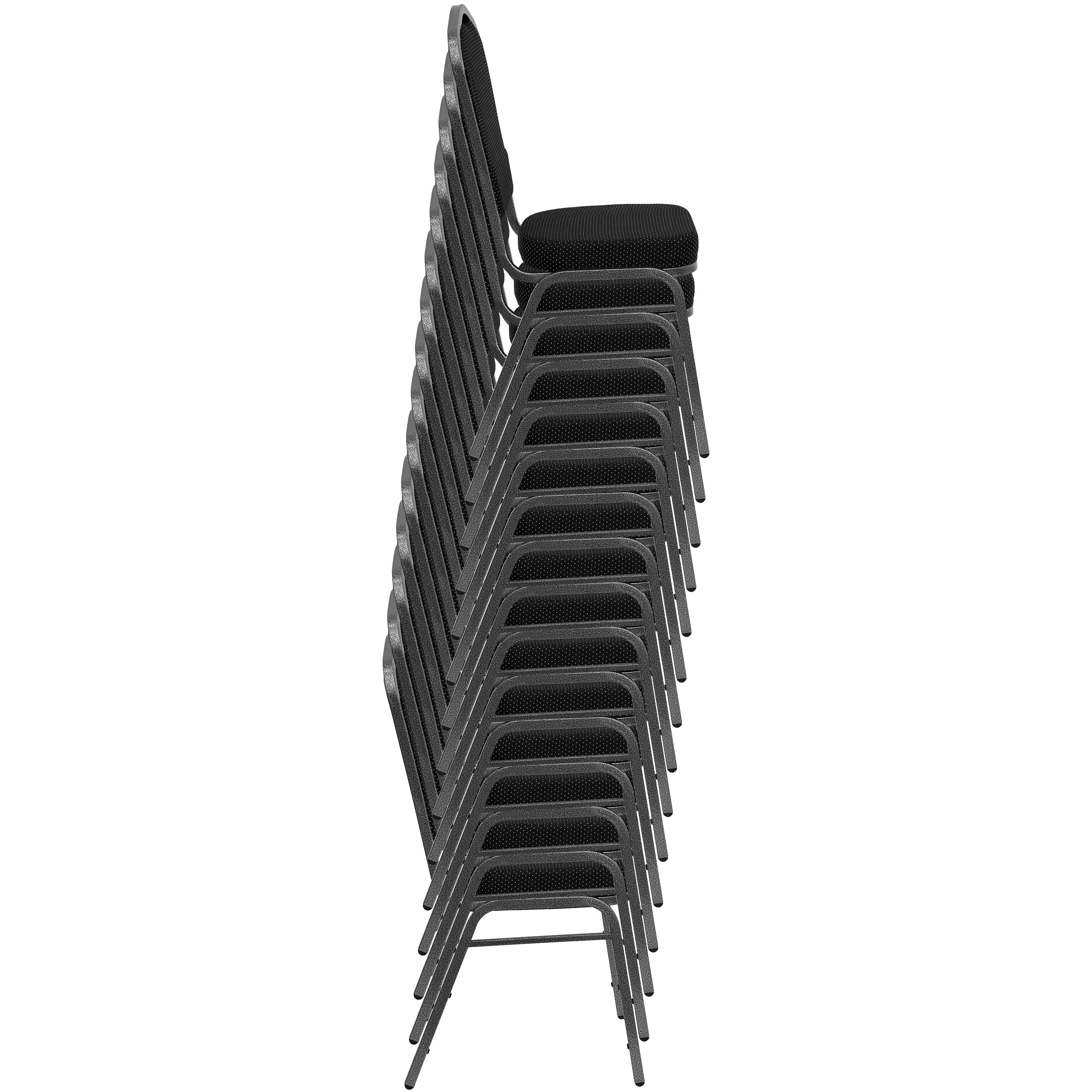 Images. HERCULES Series Crown Back Stacking Banquet Chair ...