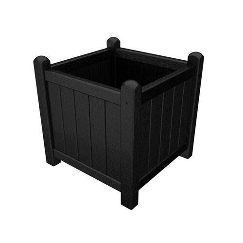 POLYWOOD® Garden Planter - Black
