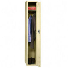 Tennsco Wardrobe Locker - Single Tier - 1 Wide