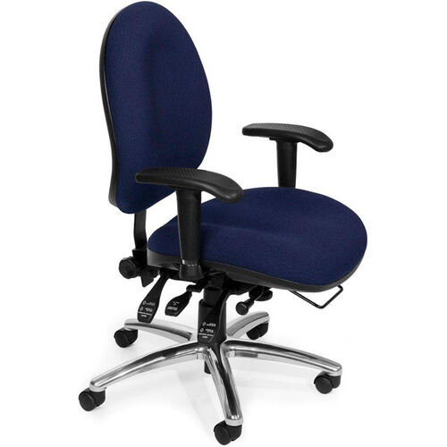 Our 24 Hour Big & Tall Computer Task Chair - Blue is on sale now.