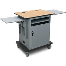 Vizion Instructor Cart Series Height Adjustable Gold Level All-in-One Teacher