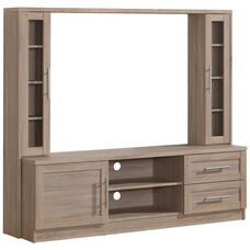 Techni Mobili Entertainment Center with Storage - Sand