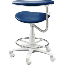DX-3300 Plus Series - Assistant Stool with Stitched Upholstery