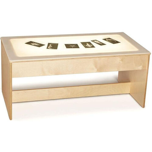 Our Large Wooden LED Light Table with Acrylic Top - 42.5