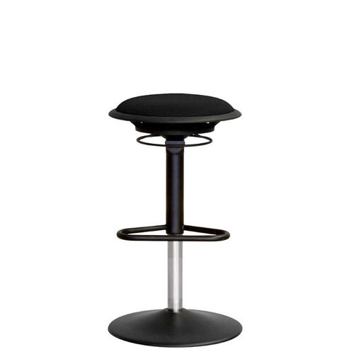 Our Jax Mesh Stool with Footrest and Round Seat - Black is on sale now.