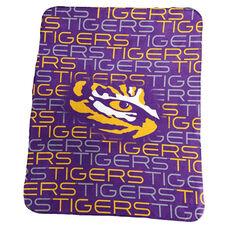Louisiana State University Team Logo Classic Fleece Throw