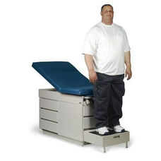 X-L Power-Back Steel Exam Table for Bariatric and General Practice Use