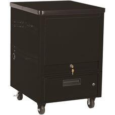 LapTop Depot 10 Capacity Cart - Black