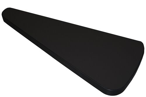 Our Sync 30 Degree Pie Connector Table - Black is on sale now.