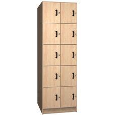 10 Compartment Storage w/Doors