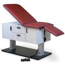 Econo-Line™ Power Clinc Examination Left Hand Table - Folkstone Gray Laminate