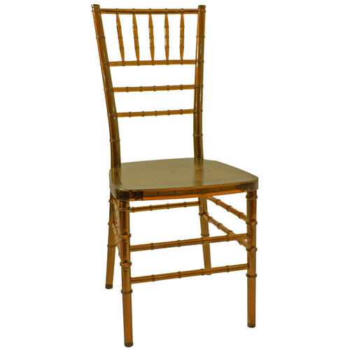 Our 1000 lb. MAX Amber Crystal Resin Steel Core Chiavari Chair is on sale now.