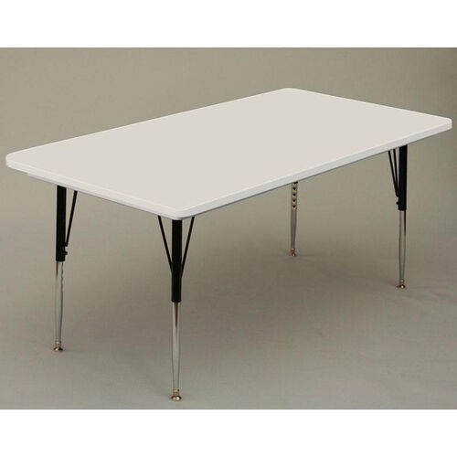 Our Blow-Molded Rectangular Plastic Top Activity Table - 30