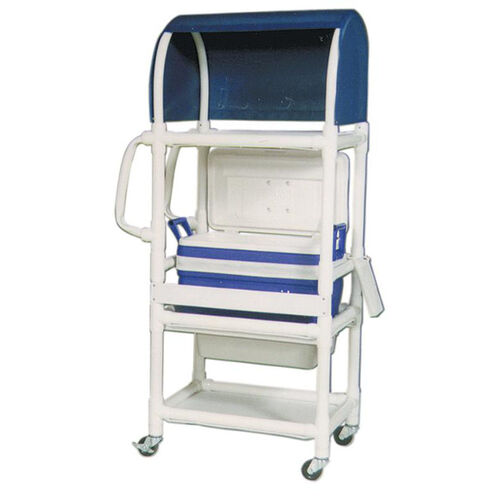 Our Ice Cart with Canopy Top and Casters - 20