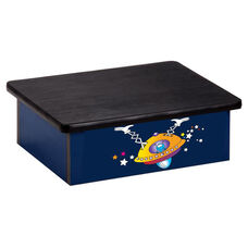 Space Place Alien Pediatric Step Stool