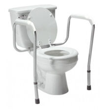 Lumex Versaframe Toilet Safety Rail - Adjustable Height