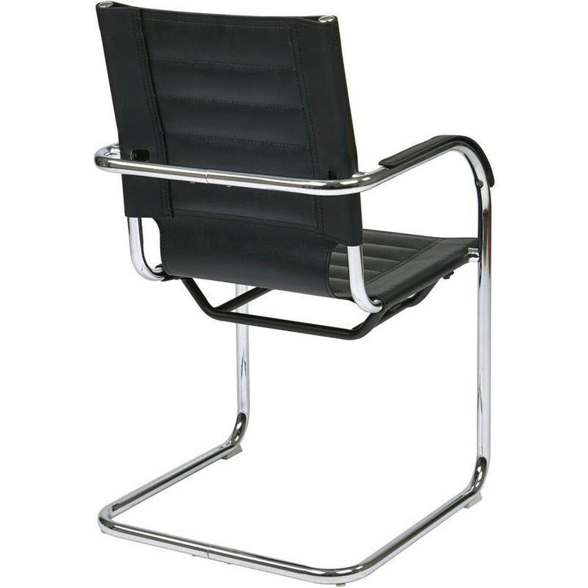Ave Six Trinidad Guest Chair Tnd945a Bk Bizchair Com