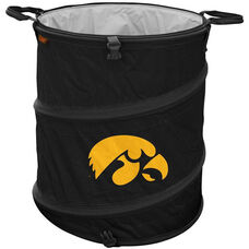 University of Iowa Team Logo Collapsible 3-in-1 Cooler Hamper Wastebasket