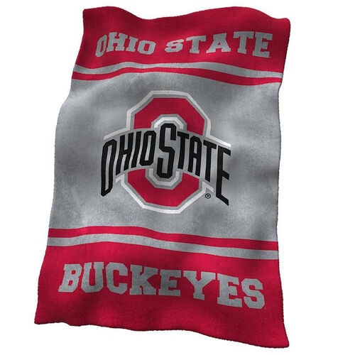 Our Ohio State University Team Logo Ultra Soft Blanket is on sale now.