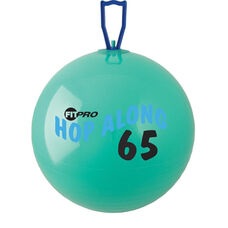 FitPro Hop Along Large Pon Pon Ball in Green - Ages 10 and Up