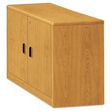 HON® 10700 Series Locking Storage Cabinet - 36w x 20d x 29 1/2h - Harvest