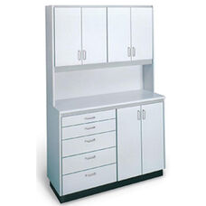 Pro-Line™ Professional Free-Standing Cabinet Unit - Folkstone Gray Laminate