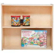 Two Shelf Baltic Birch Plywood Bookshelf with Tuff-Gloss UV Finish - 30