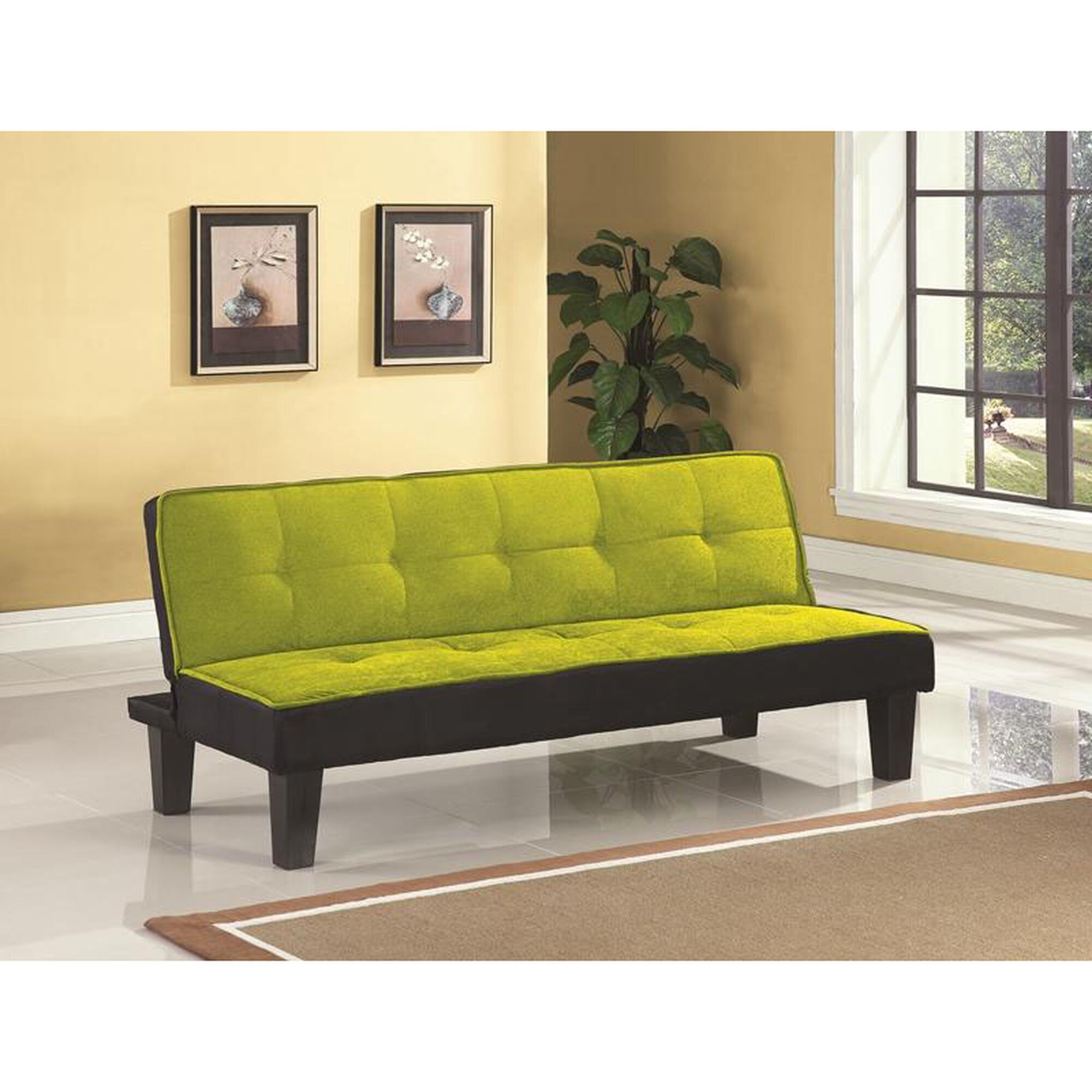 Fantastic Hamar Adjustable Sofa With Tufted Fabric Seat And Back Green Unemploymentrelief Wooden Chair Designs For Living Room Unemploymentrelieforg