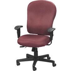 4x4 XL High Back 29'' W x 26'' D x 40.5'' H Adjustable Height Multi Function Fabric Task Chair - Burgundy