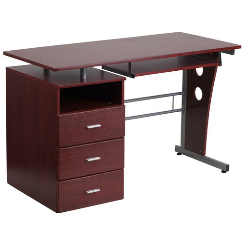 Our Mahogany Desk with Three Drawer Pedestal and Pull-Out Keyboard Tray is on sale now.
