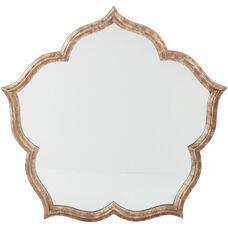 OSP Designs Blossom Wall Mirror - Antique Silver