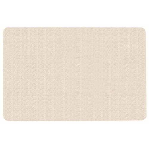 Our Frameless Burlap Weave Vinyl Display Panel with Radius Corners - Off White - 48