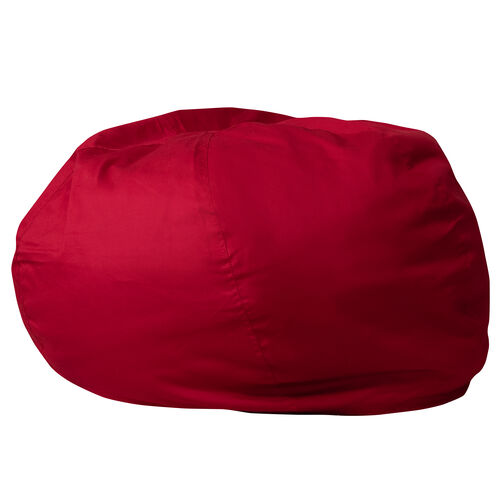 Our Oversized Solid Red Bean Bag Chair for Kids and Adults is on sale now.