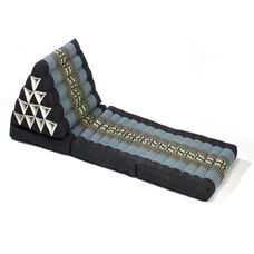 Triangle Yoga and Meditation Lounger - Blue and Black