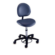 Millennium Series - Foot Operated Surgeon Stool with Back