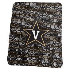 Vanderbilt University Team Logo Classic Fleece Throw