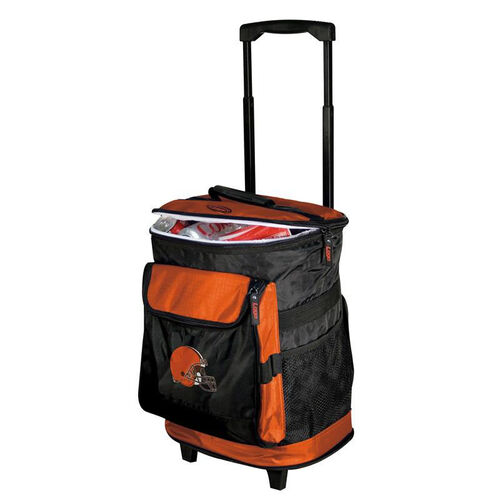 Our Cleveland Browns Team Logo Rolling Cooler is on sale now.