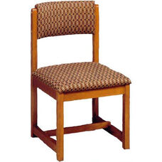 111 Desk Chair w/ Upholstered Back & Seat - Grade 1