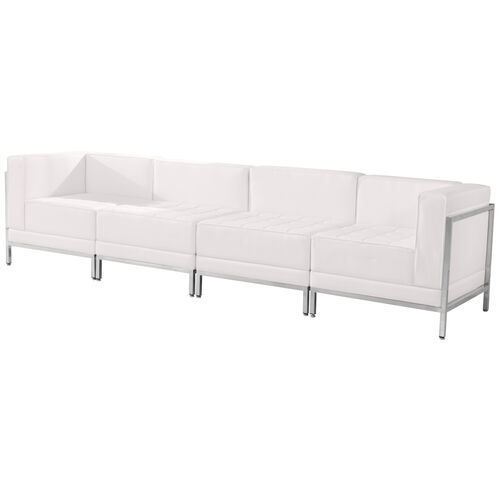 Our HERCULES Imagination Series Melrose White LeatherSoft 4 Piece Lounge Set is on sale now.