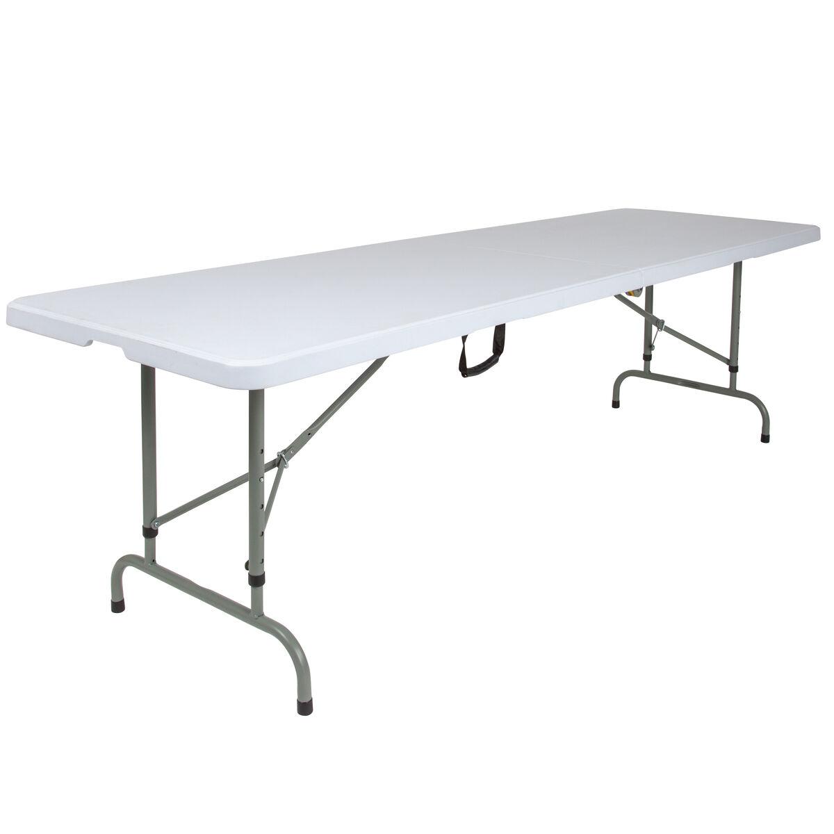 30x96 white bi fold table rb 3096fh adj gg bizchair com