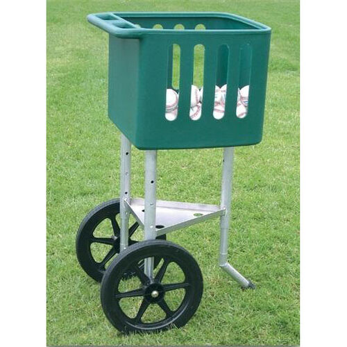 Our Height Adjustable Steel Frame Field Ball Cart is on sale now.