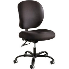 Alday™ 24/7 Big and Tall Task Chair with Plastic Ergo Core Back - Black
