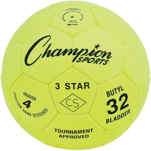 Our Three Star Indoor Soccer Ball Size 4 is on sale now.