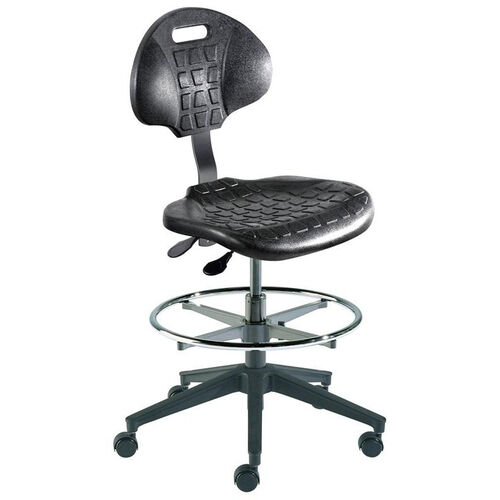 Our Quick Ship UniqueU Series Chair with Waterfall Front Seat and Reinforced Composite Base - Medium Seat Height is on sale now.